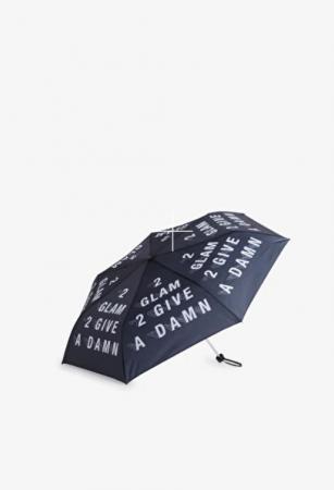 Paraplu met opschrift