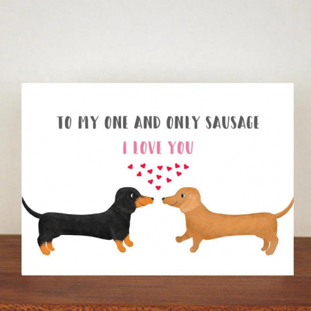 To my one and only sausage