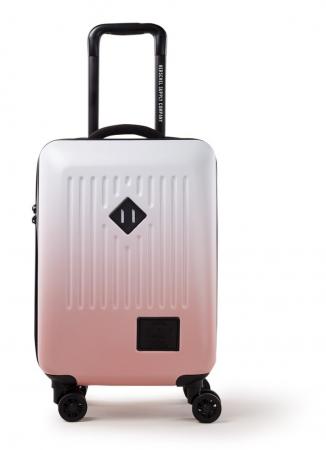 Roze reiskoffer met ombré-effect