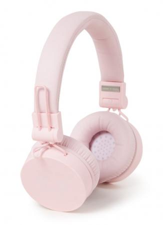 Roze draadloze koptelefoon