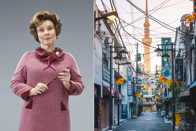 Dolores Umbridge: Tokio (Japan)