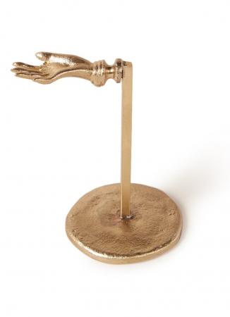 Goudkleurige juwelenhouder uit messing