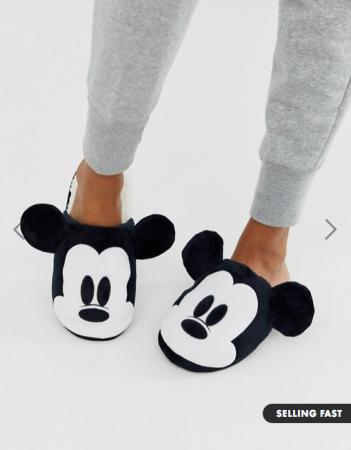 Pantoufles Mickey