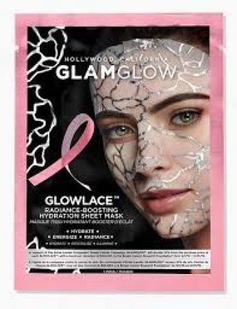 Glowface Radiance-Boosting Hydration Sheet Mask van Glamglow
