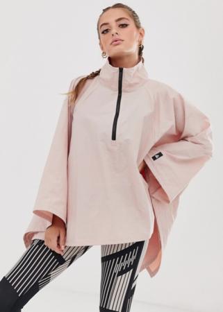 Roze poncho