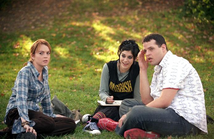 Cady en Janis in 'Mean Girls'
