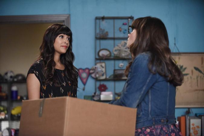 Jess en Cece in 'New Girl'