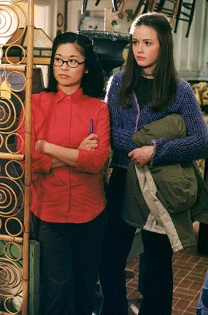 Lane en Rory in 'Gilmore Girls'
