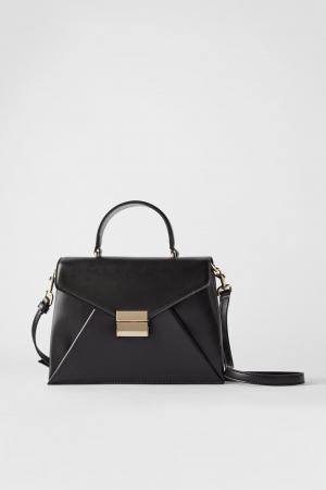 Sac de ville style enveloppe – Zara