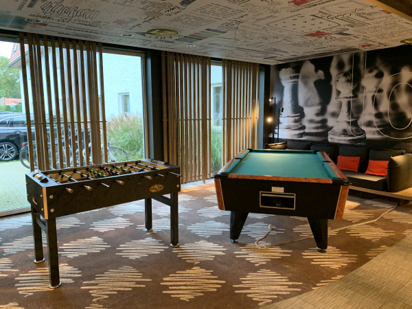 De speelzone van het hotel