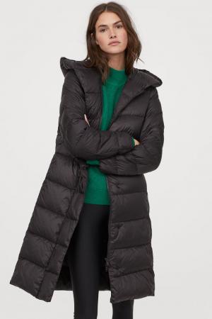 Longue veste matelassée