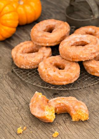Donuts au potiron