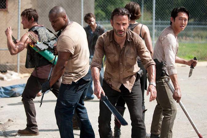13. The Walking Dead (9 seizoenen)