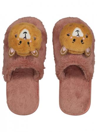 Pantoffels met caviahoofdje