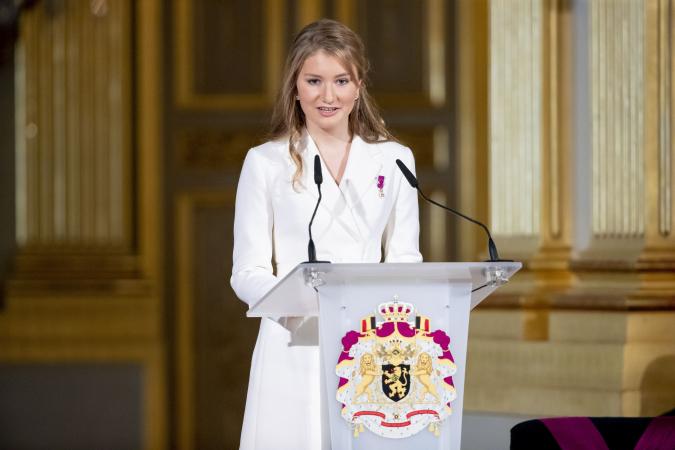 18de verjaardag prinses Elisabeth
