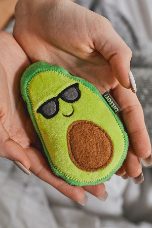 Le coussin avocat de sarrasin et lavande à chauffer au micro-onde pour éviter de perdre un doigt