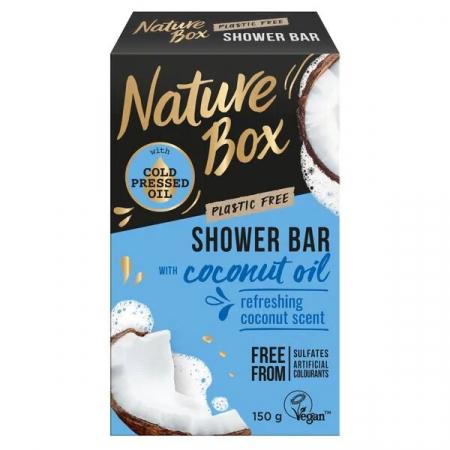 Nature box douche coconut bar