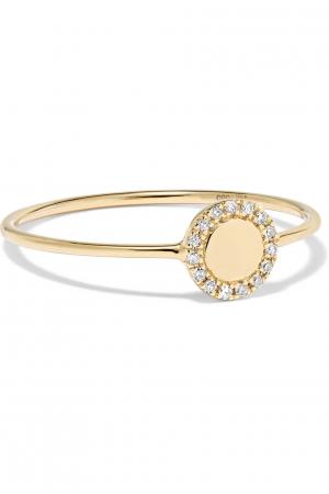 Bague en or 14 carats avec diamants