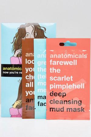 Set van 3 gezichtsmaskers