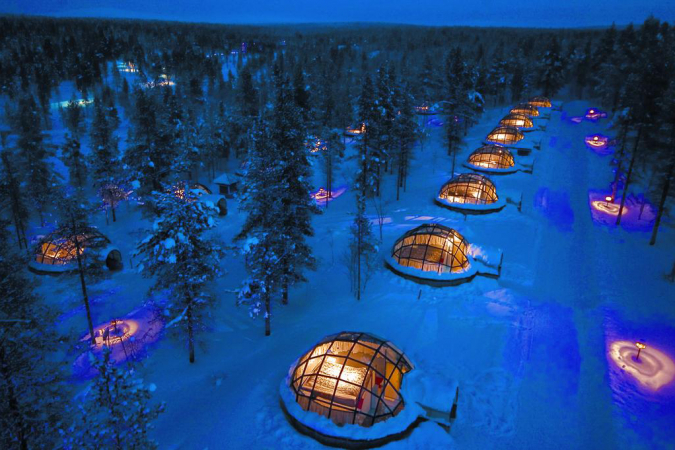 Kakslauttanen Arctic Resort (Finland)