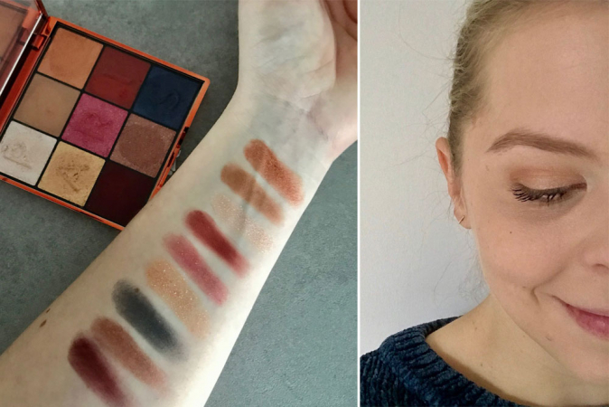 Paris Electric Nights Eyeshadow Palette van L'Oréal Paris: 7/10