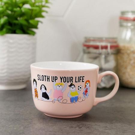 Mok 'Sloth up your life'