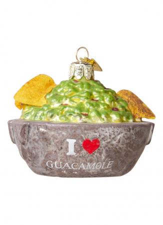 Kom guacamole met chips