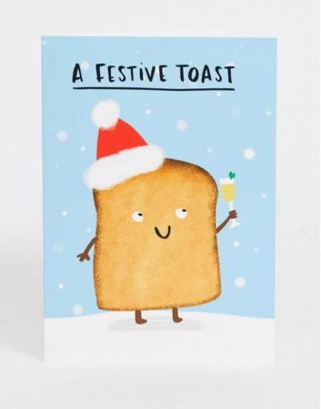 A festive toast
