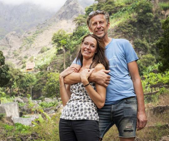 Suikerrietboer Etienne uit Kaapverdië koos voor Rebecca (46)