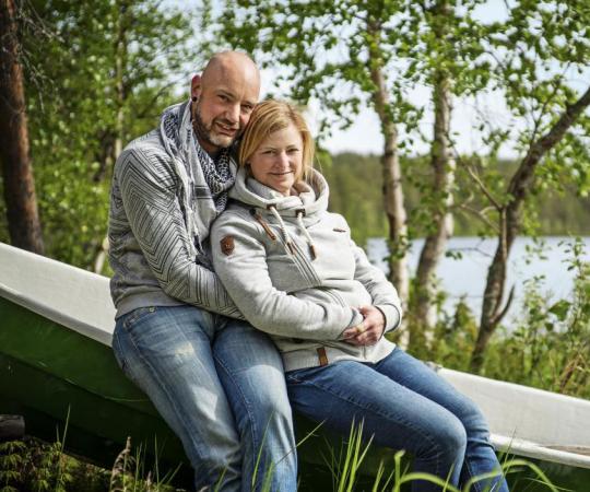Huskygids Marianne koos in Finland vroegtijdig voor Remco (37)