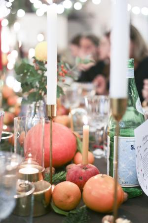 Les fruits sur la table