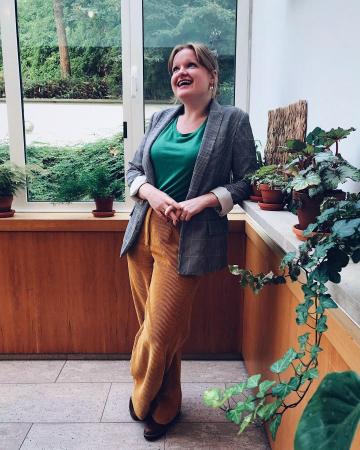 Redactrice Laura: trendkleur groen