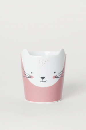Tasse à motif animal