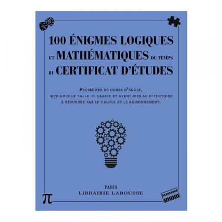 100 énigmes logiques et mathématiques