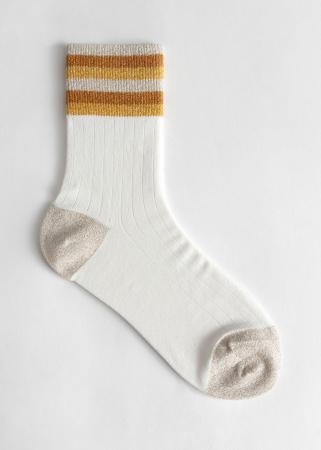 Des chaussettes à paillettes
