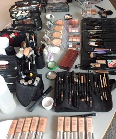 Nog steeds mijn favoriete moment op een shoot: de make-up!