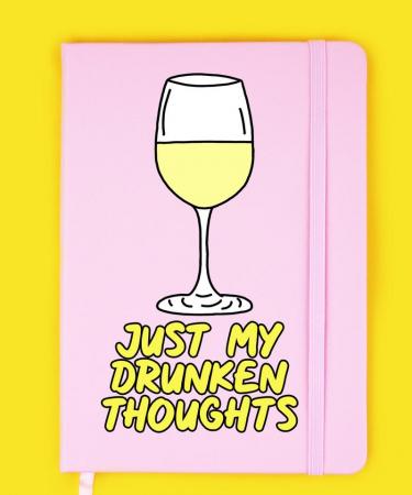 Notitieboekje 'Just my drunken thoughts'