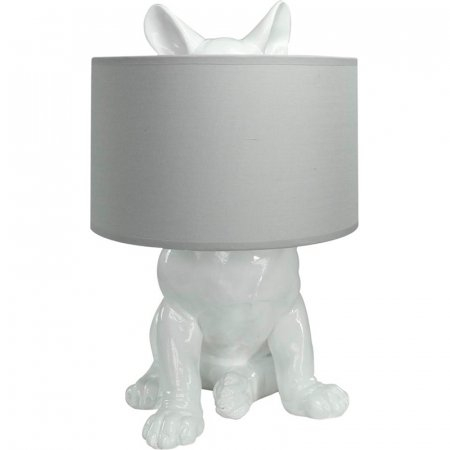 Lamp met verborgen hond