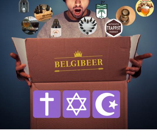 Box de bières belges by <em>Belgibeer</em>