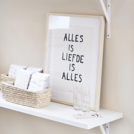 Poster 'Alles is Liefde is Alles'