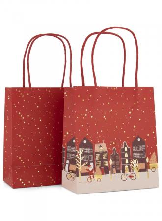 Cadeautasjes kerst