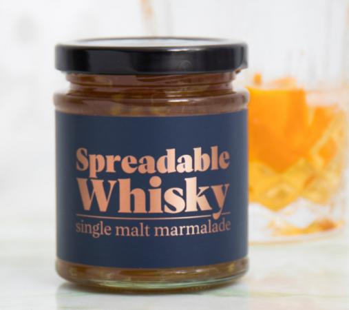 Whiskypasta voor op de boterham