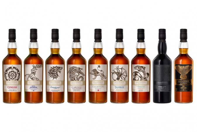 Collection de Whisky Game of Thrones Single Malt Scotch