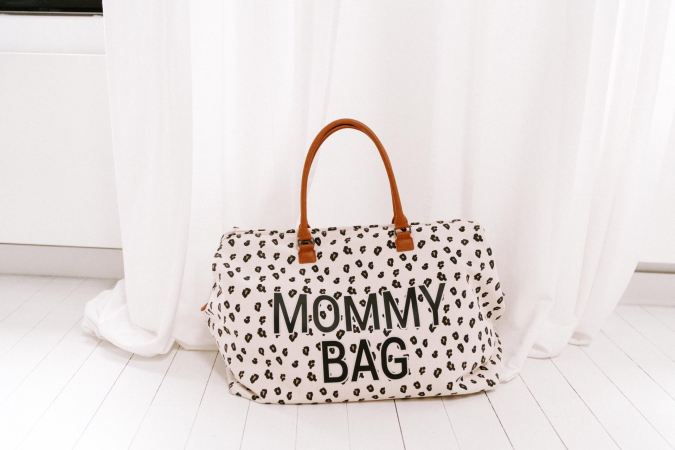 Mommy Bag in luipaardprint