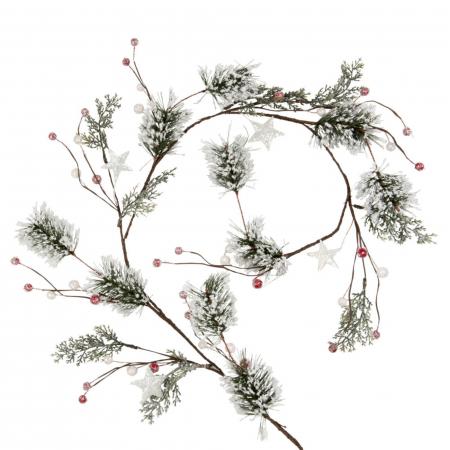 "Version ""branches de pin enneigées"""
