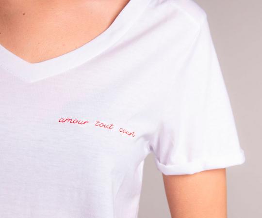 Un t-shirt pour vous 2 «<em>amour tout court»</em>