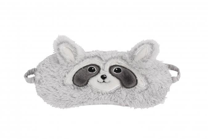Masque raton laveur pour qu'elle dorme bien