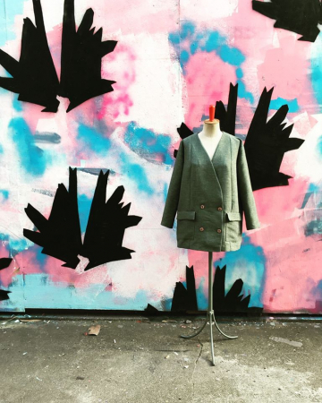 Un vêtement vintage customisé par Numéro Seize