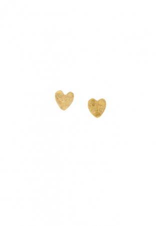 Handgemaakte en fair trade oorbellen in hartjesvorm