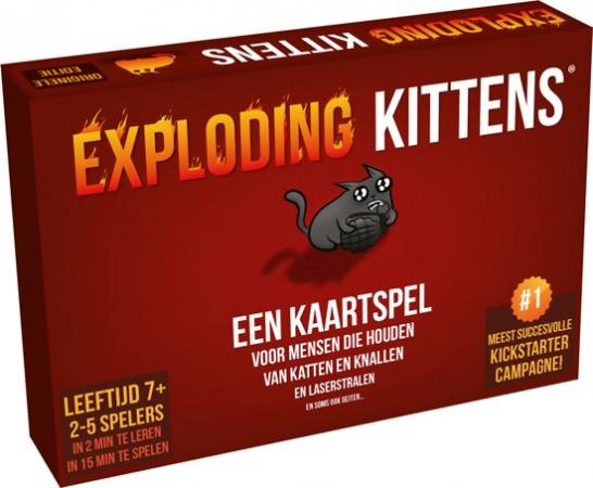 Kaartspel Exploding Kittens